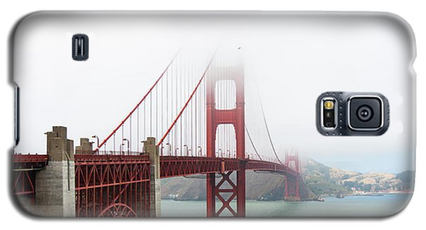 Golden Gate In The Fog Galaxy S5 Case