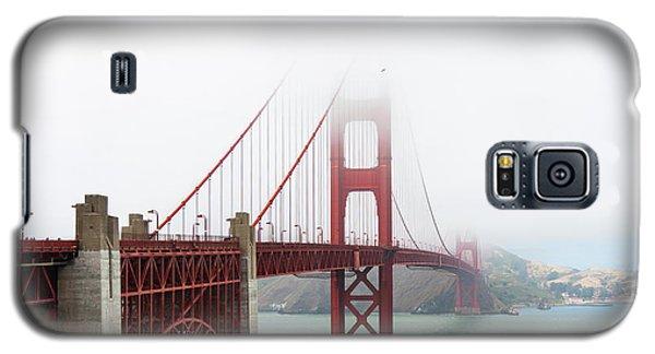 Golden Gate In The Fog Galaxy S5 Case