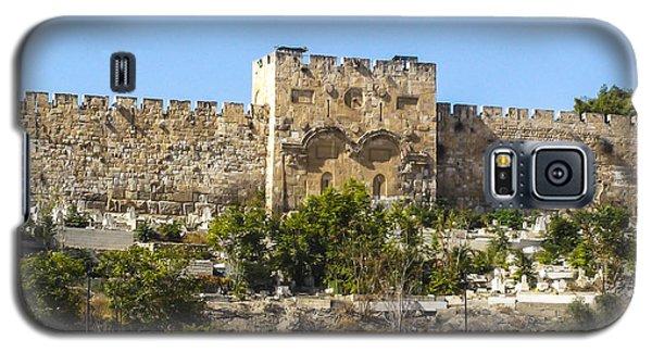 Golden Gate Jerusalem Israel Galaxy S5 Case