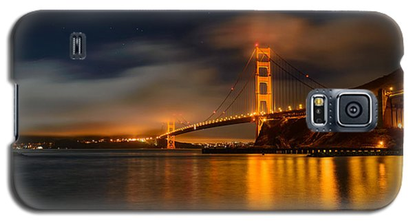 Golden Gate Night Galaxy S5 Case