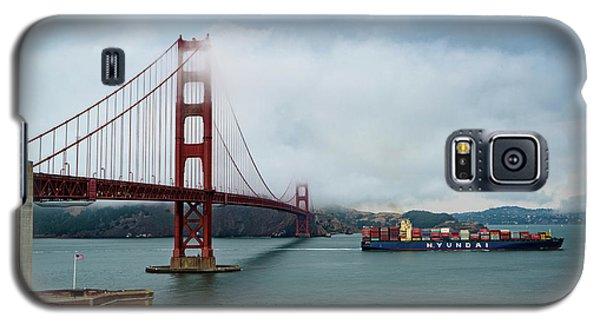 Golden Gate Ship Galaxy S5 Case
