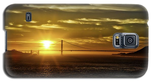 Golden Gate Sunset Galaxy S5 Case