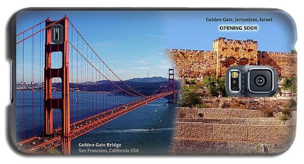 Golden Gate To Golden Gate Galaxy S5 Case