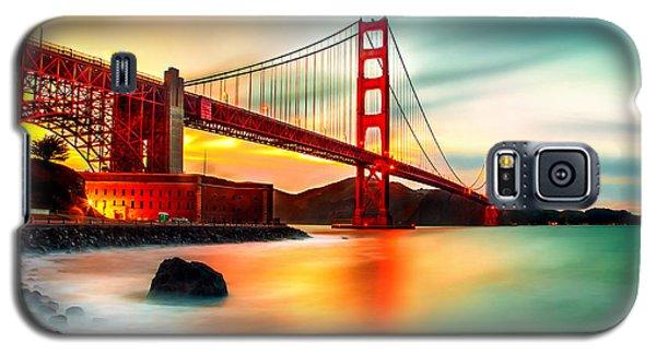 Golden Gateway Galaxy S5 Case by Az Jackson
