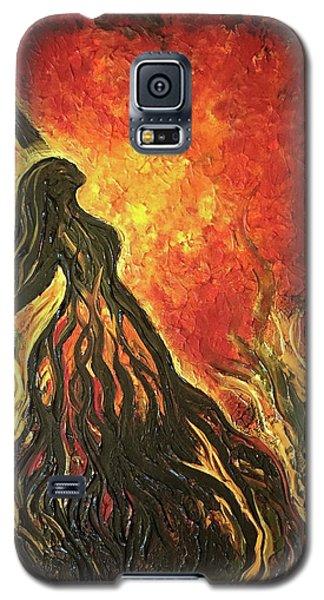Golden Goddess Galaxy S5 Case