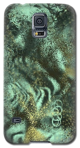 Galaxy S5 Case - Golden Green by Orphelia Aristal