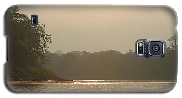 Golden Haze Covering The Amazon River Galaxy S5 Case