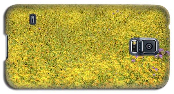 Galaxy S5 Case featuring the photograph Golden Hillside by Marc Crumpler