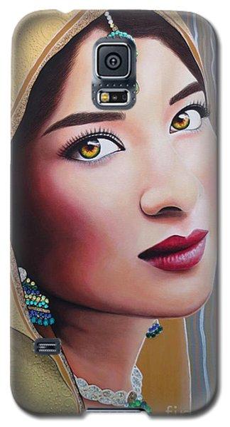 Golden Indian Bride Galaxy S5 Case