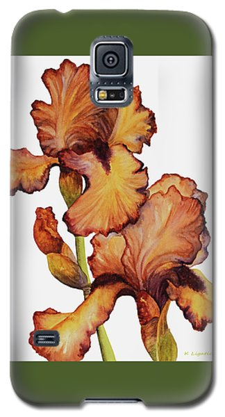 Golden Iris Galaxy S5 Case