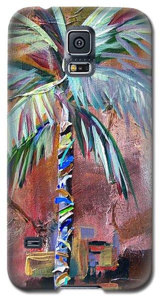 Golden Jasper Palm Galaxy S5 Case