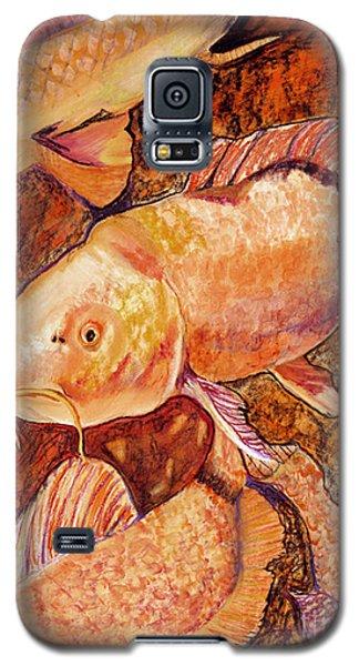 Golden Koi Galaxy S5 Case