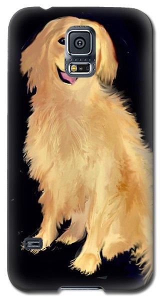 Golden Lab Galaxy S5 Case