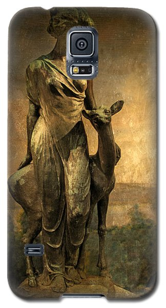 Golden Lady Galaxy S5 Case