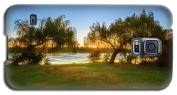 Golden Lake, Yanchep National Park Galaxy S5 Case by Dave Catley