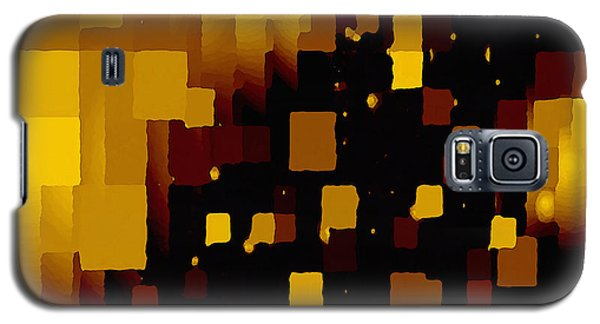 Golden Light And Dark  Galaxy S5 Case