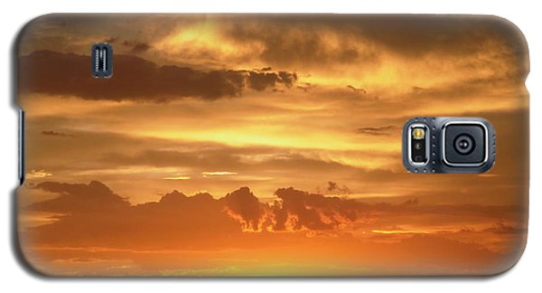 Golden Light Galaxy S5 Case by Stephanie Moore