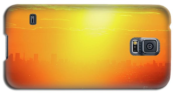 Golden Light Galaxy S5 Case by Tatsuya Atarashi
