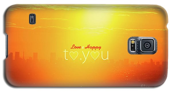 To You #002 Galaxy S5 Case by Tatsuya Atarashi