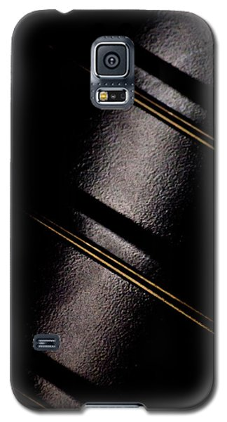 Galaxy S5 Case featuring the photograph Golden Line by Paul Job