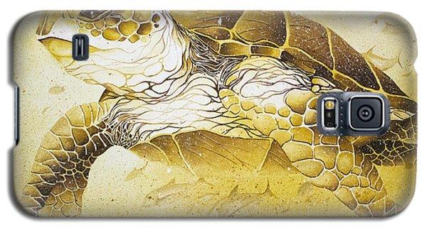 Golden Loggerhead Galaxy S5 Case