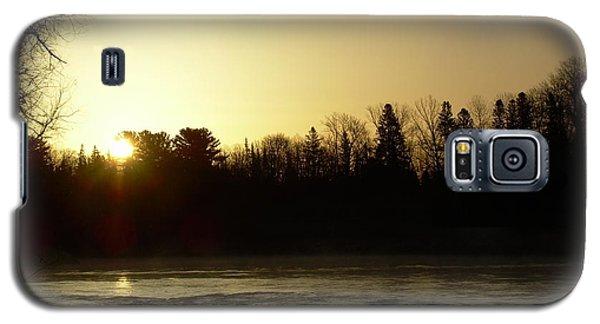 Golden Mississippi River Sunrise Galaxy S5 Case by Kent Lorentzen