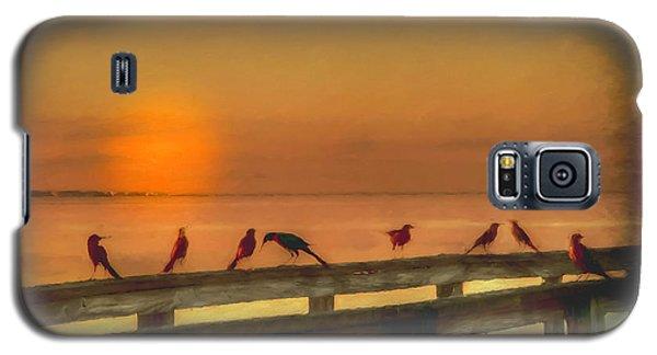 Golden Moment Galaxy S5 Case