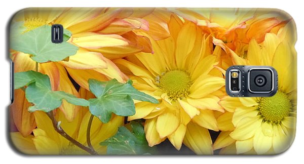 Golden Mums And Ivy Galaxy S5 Case