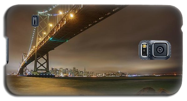 Golden Night Over The City Galaxy S5 Case