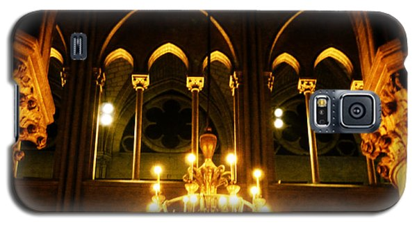 Golden Notre Dame Galaxy S5 Case
