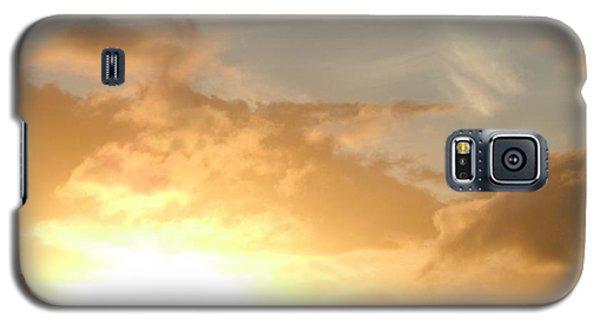 Golden Oahu Sunset Galaxy S5 Case
