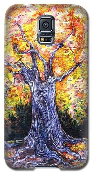 Golden Oak Galaxy S5 Case by Anna  Duyunova
