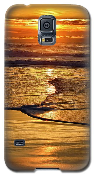Golden Pacific Sunset Galaxy S5 Case