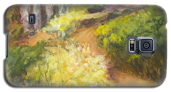 Golden Pathway Galaxy S5 Case by Glory Wood