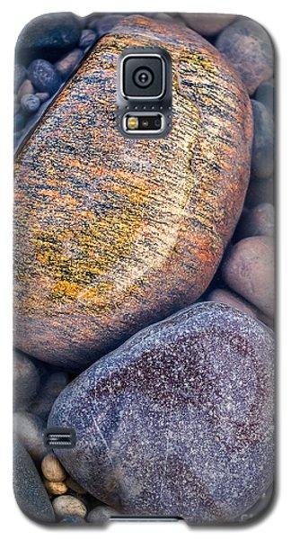 Golden Pebble Galaxy S5 Case