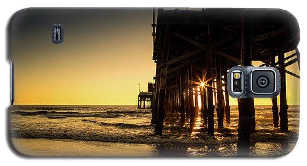 Golden Pier  Galaxy S5 Case
