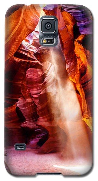 Golden Pillars Galaxy S5 Case