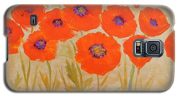Magical Poppies Galaxy S5 Case