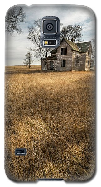 Galaxy S5 Case featuring the photograph Golden Prairie  by Aaron J Groen