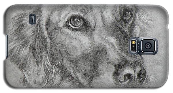Golden Retriever Drawing Galaxy S5 Case