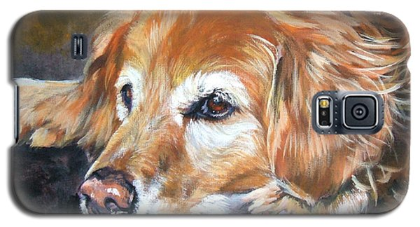 Golden Retriever Senior Galaxy S5 Case
