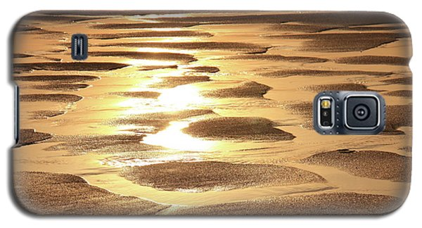 Galaxy S5 Case featuring the photograph Golden Sands by Roupen  Baker