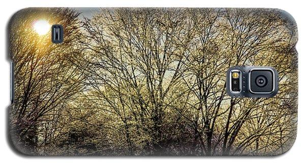 Golden Snow Galaxy S5 Case
