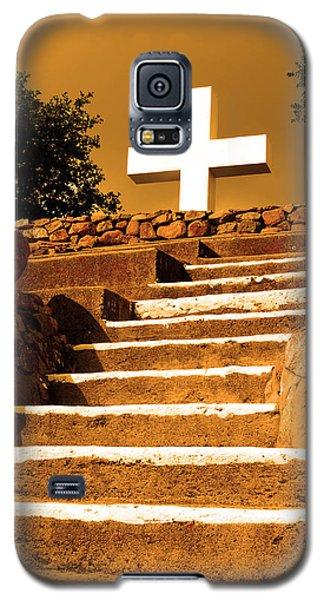 Golden Stairway Galaxy S5 Case