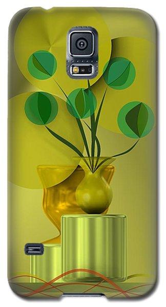 Golden Still Life Galaxy S5 Case