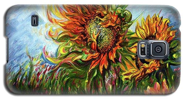 Golden Sunflowers - Harsh Malik Galaxy S5 Case