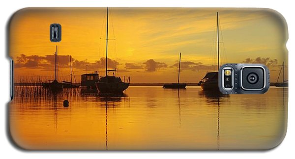 Golden Sunrise At Boreen Point Galaxy S5 Case