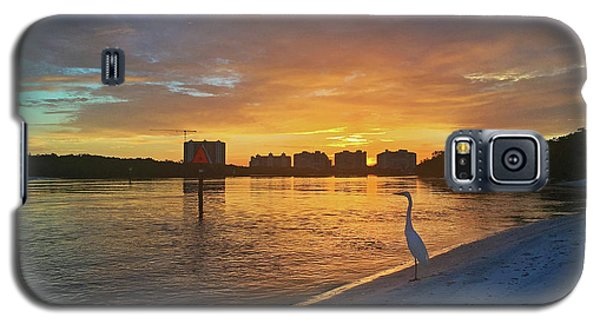 Golden Sunrise Galaxy S5 Case
