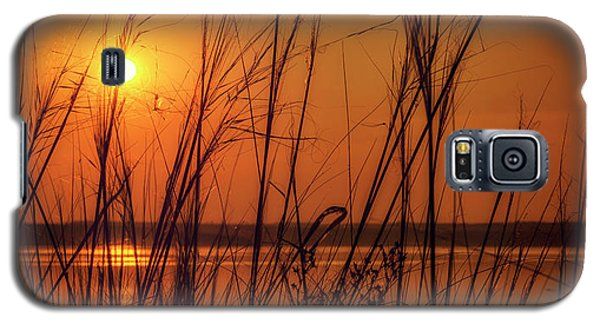 Golden Sunset At The Lake Galaxy S5 Case