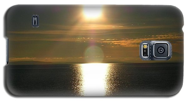 Galaxy S5 Case featuring the photograph Golden Sunset by Kim Prowse